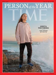 Climate Activist Greta Thunberg - Time Cover