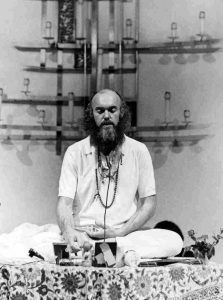 Ram Dass - Meditation Photo